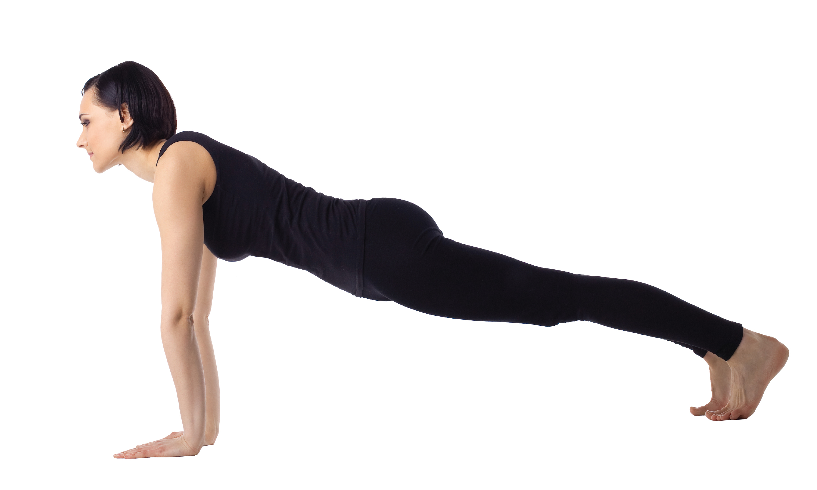 Yoga pose High Plank