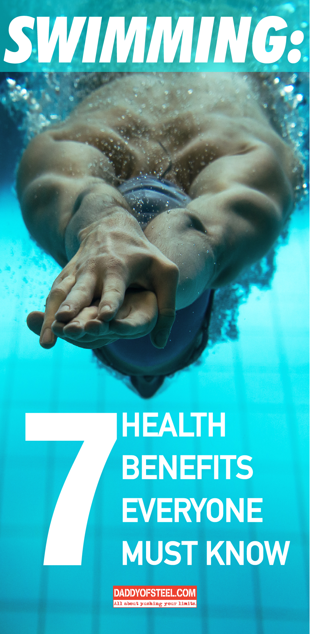 Swimming 7 health benefits