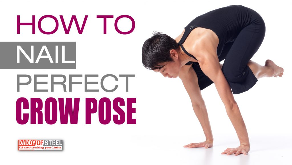 how to do Crow-Pose