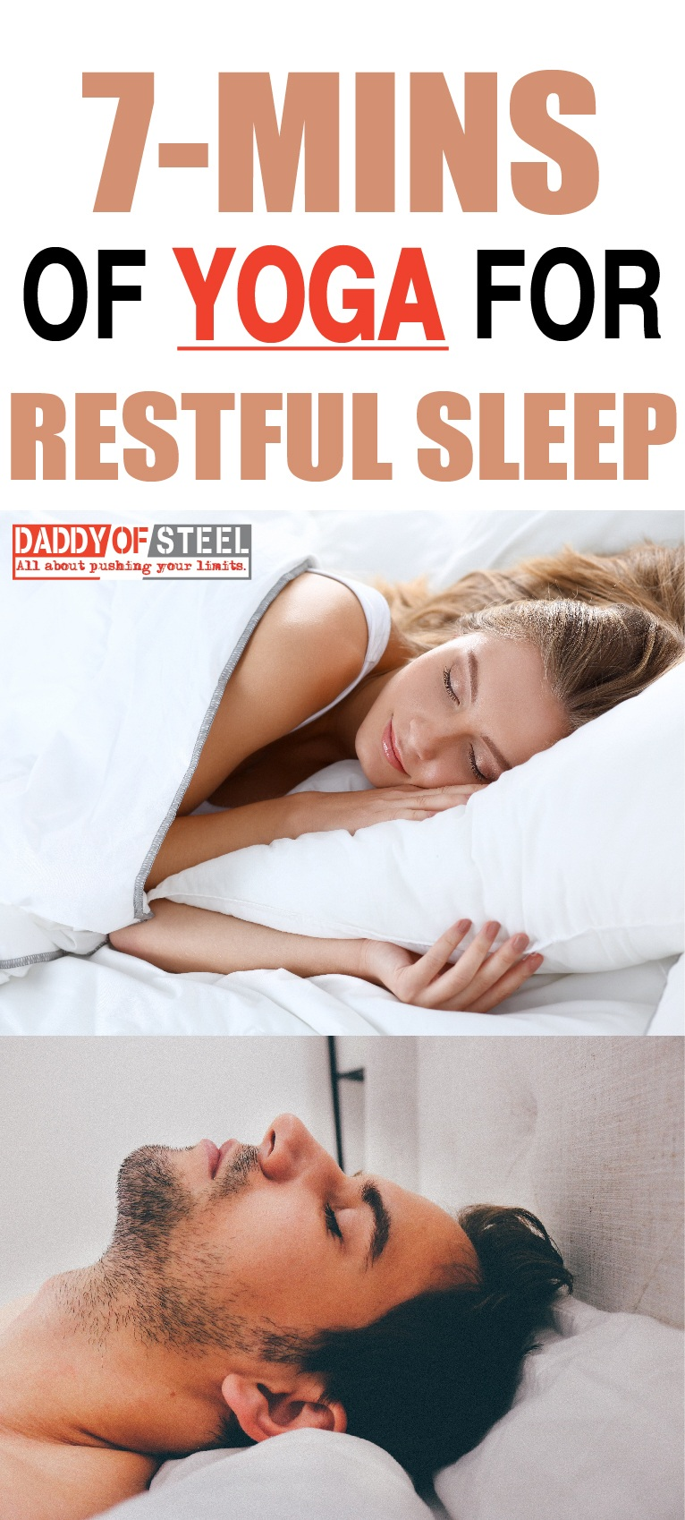 bedtime yoga for restful sleep